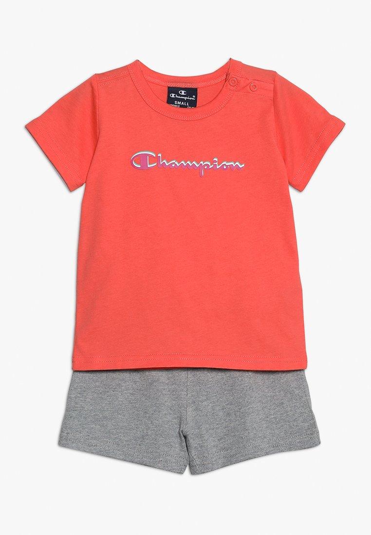 Champion - AMERICAN CLASSICS SET - Trainingsanzug - coral/grey
