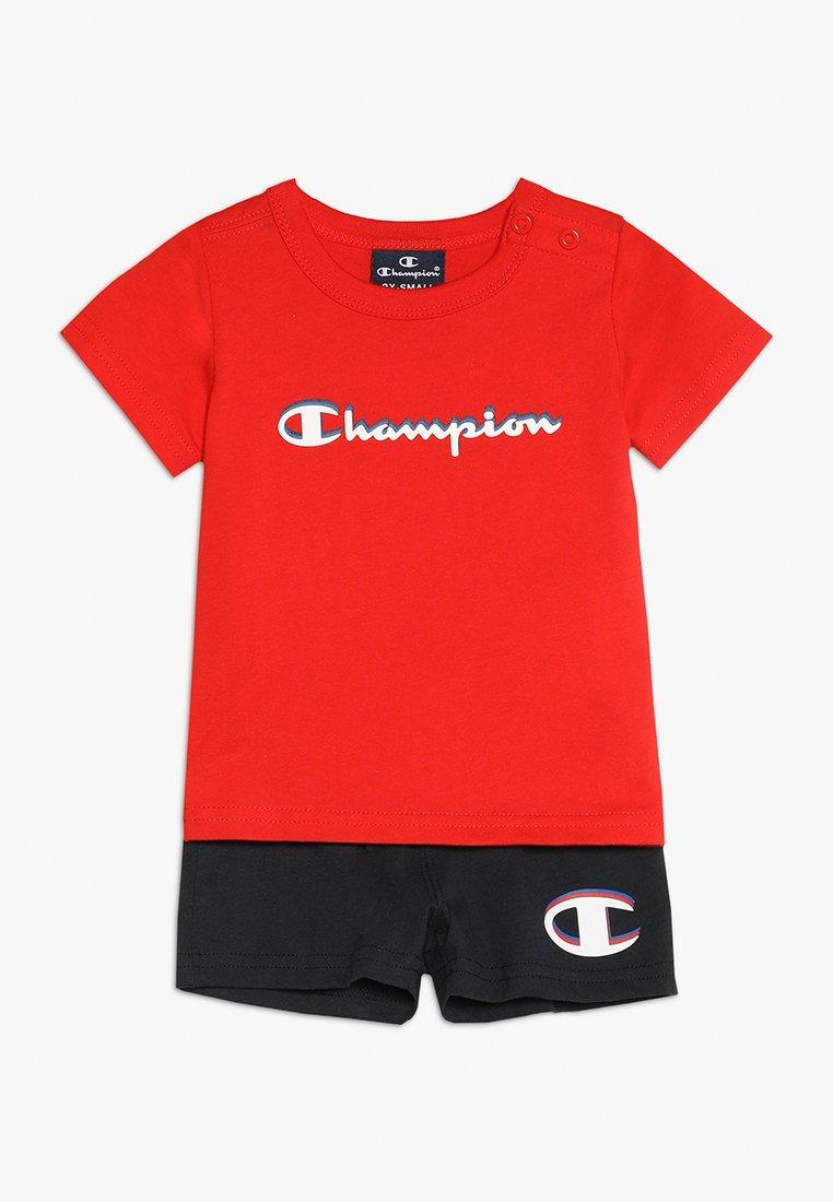 Champion - AMERICAN CLASSICS SET - Tepláková souprava - red/dark blue