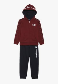 Champion - HOODED FULL ZIP SUIT - Trainingspak - bordeaux/dark blue - 0