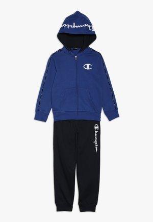 HOODED FULL ZIP SUIT - Tracksuit - royal blue/dark blue