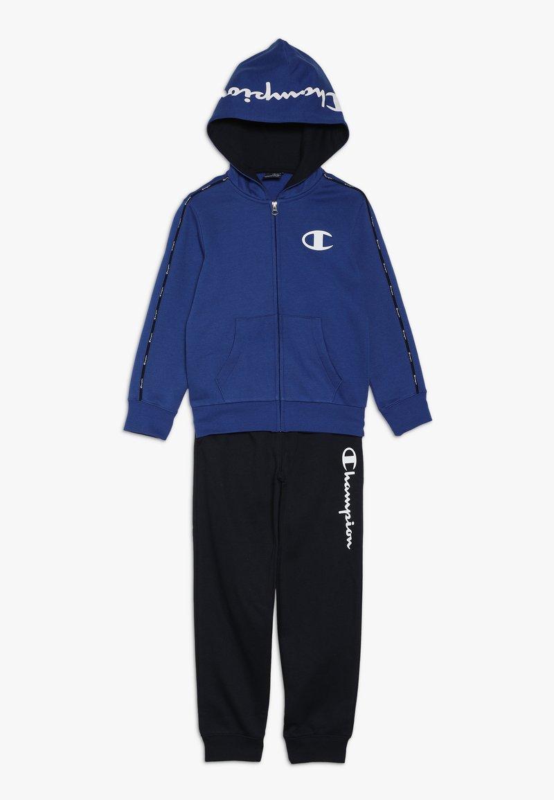 Champion - HOODED FULL ZIP SUIT - Dres - royal blue/dark blue