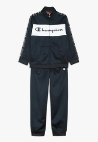 Champion - TRACKSUITS FULL ZIP SUIT - Survêtement - dark blue - 0
