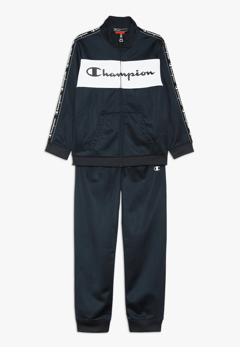 Champion - TRACKSUITS FULL ZIP SUIT - Survêtement - dark blue
