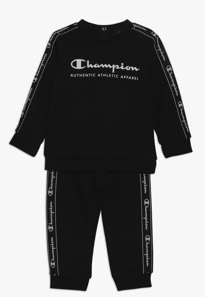 Champion - TODDLER SET CREWNECK - Chándal - black