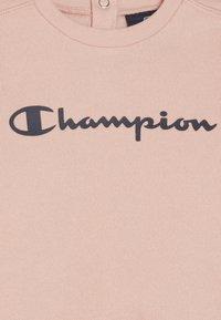 Champion - TODDLER CREWNECK - Treningsdress - pink/dark blue - 4