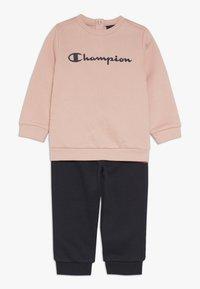 Champion - TODDLER CREWNECK - Treningsdress - pink/dark blue - 0