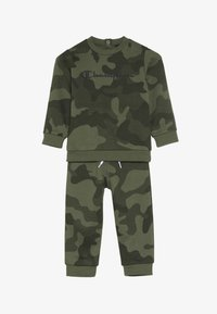 Champion - TODDLER CREWNECK - Dres - khaki - 4
