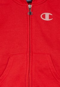Champion - LEGACY AMERICAN CLASSICS HOODED FULL ZIP SUIT SET - Tracksuit - red/dark blue - 7