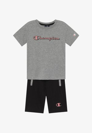 LEGACY GRAPHIC SHOP SET - Sports shorts - mottled grey