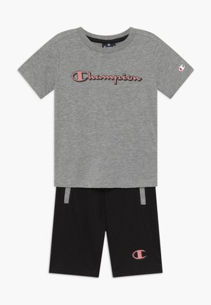 LEGACY GRAPHIC SHOP SET - Pantalón corto de deporte - mottled grey
