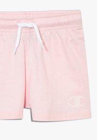 Champion - CHAMPION X ZALANDO TODDLER SUMMER SET - Sports shorts - white/multi-coloured/light pink - 5