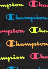 Champion - CHAMPION X ZALANDO TODDLER SUMMER SET - Short de sport - black/multi-coloured/mottled grey - 4