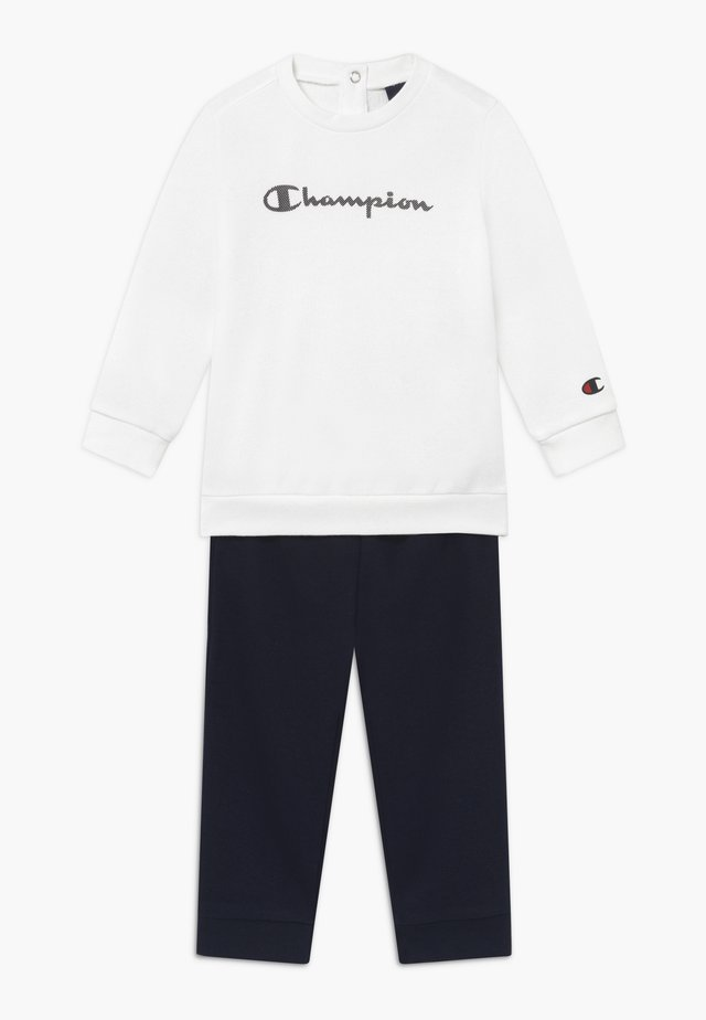 CHAMPION X ZALANDO TODDLER SET - Træningssæt - white/dark blue
