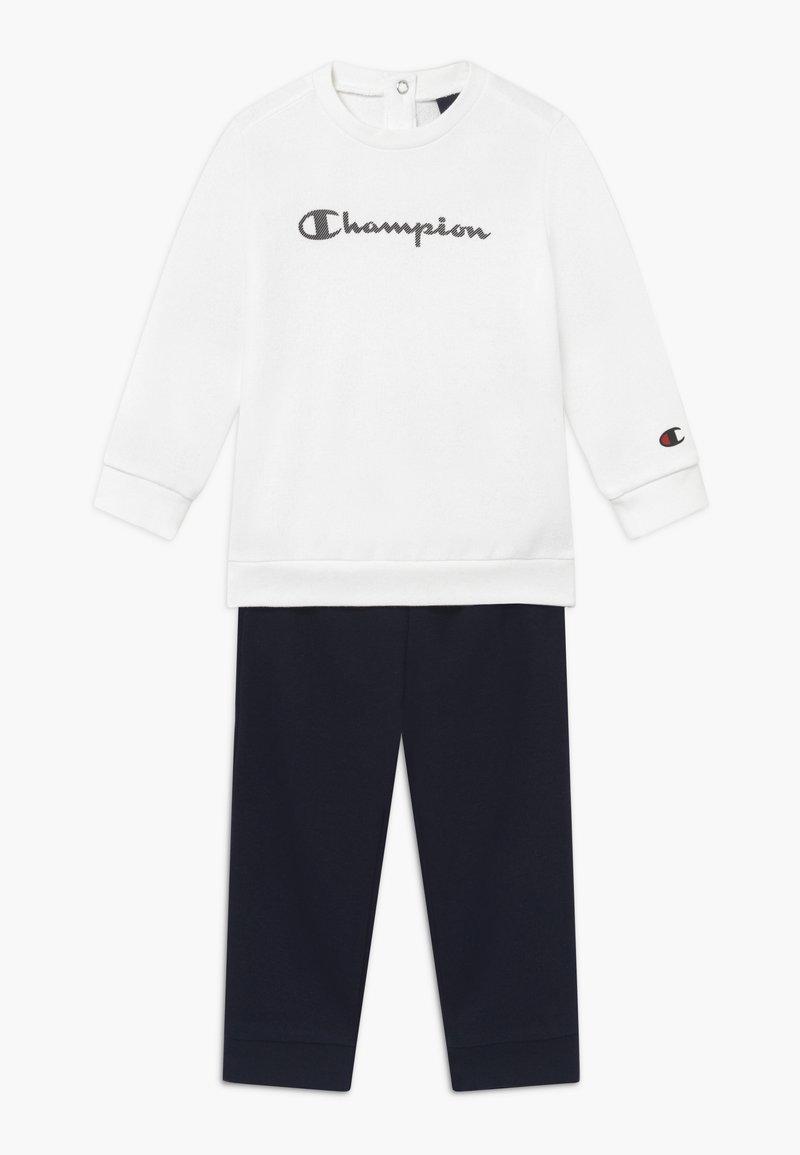 Champion - CHAMPION X ZALANDO TODDLER SET - Tepláková souprava - white/dark blue