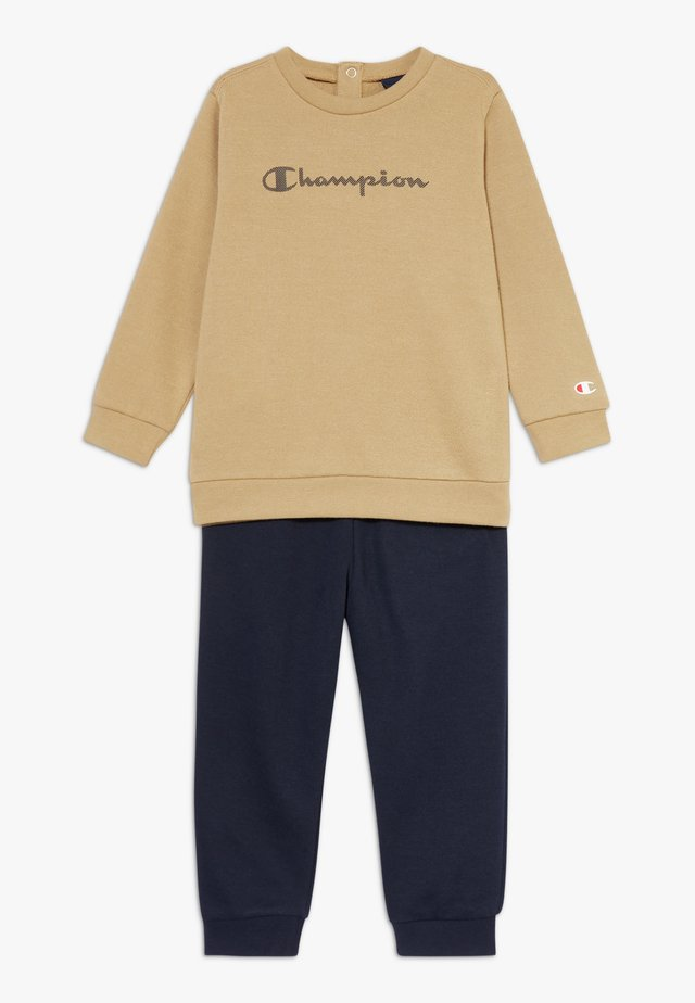 CHAMPION X ZALANDO TODDLER SET - Träningsset - sand/black