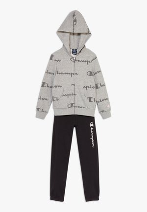 LEGACY SWEATSUITS HOODED FULL ZIP SUIT - Tracksuit - grey/black