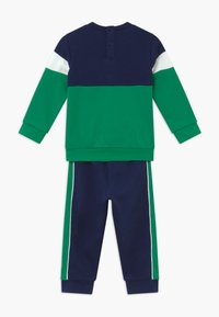 Champion - TODDLER COLORBLOCK SET - Trainingspak - dark blue/green/white - 1