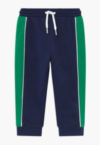 Champion - TODDLER COLORBLOCK SET - Trainingspak - dark blue/green/white - 4