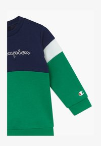 Champion - TODDLER COLORBLOCK SET - Trainingspak - dark blue/green/white - 3