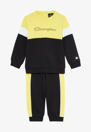 TODDLER COLORBLOCK SET - Trainingspak - black/yellow/white