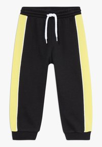 Champion - TODDLER COLORBLOCK SET - Tepláková souprava - black/yellow/white - 2