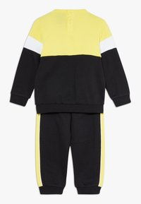 Champion - TODDLER COLORBLOCK SET - Tepláková souprava - black/yellow/white - 1