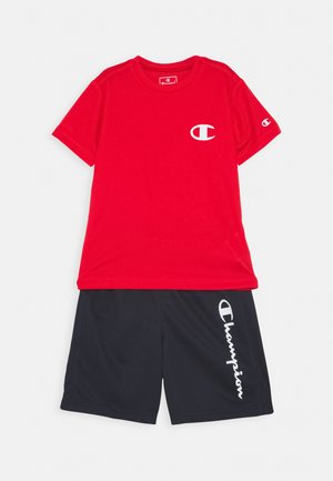 PLAY LIKE A CHAMPION BACK TO SCHOOL SET - Tepláková souprava - red / dark blue
