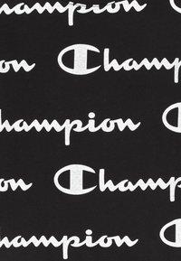 Champion - LEGACY AMERICAN CLASSICS - Jersey dress - black/white - 3