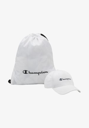 GIFTSET GYMBAG + CAP SET - Worek sportowy - white/white