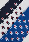 Champion - CASUAL SOCKS REPEAT LOGO 3 PACK - Sportsocken - royal blue/withe/navy