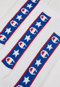 Champion - JAPAN TAPE CREW 3 PACK - Calcetines de deporte - white - 2