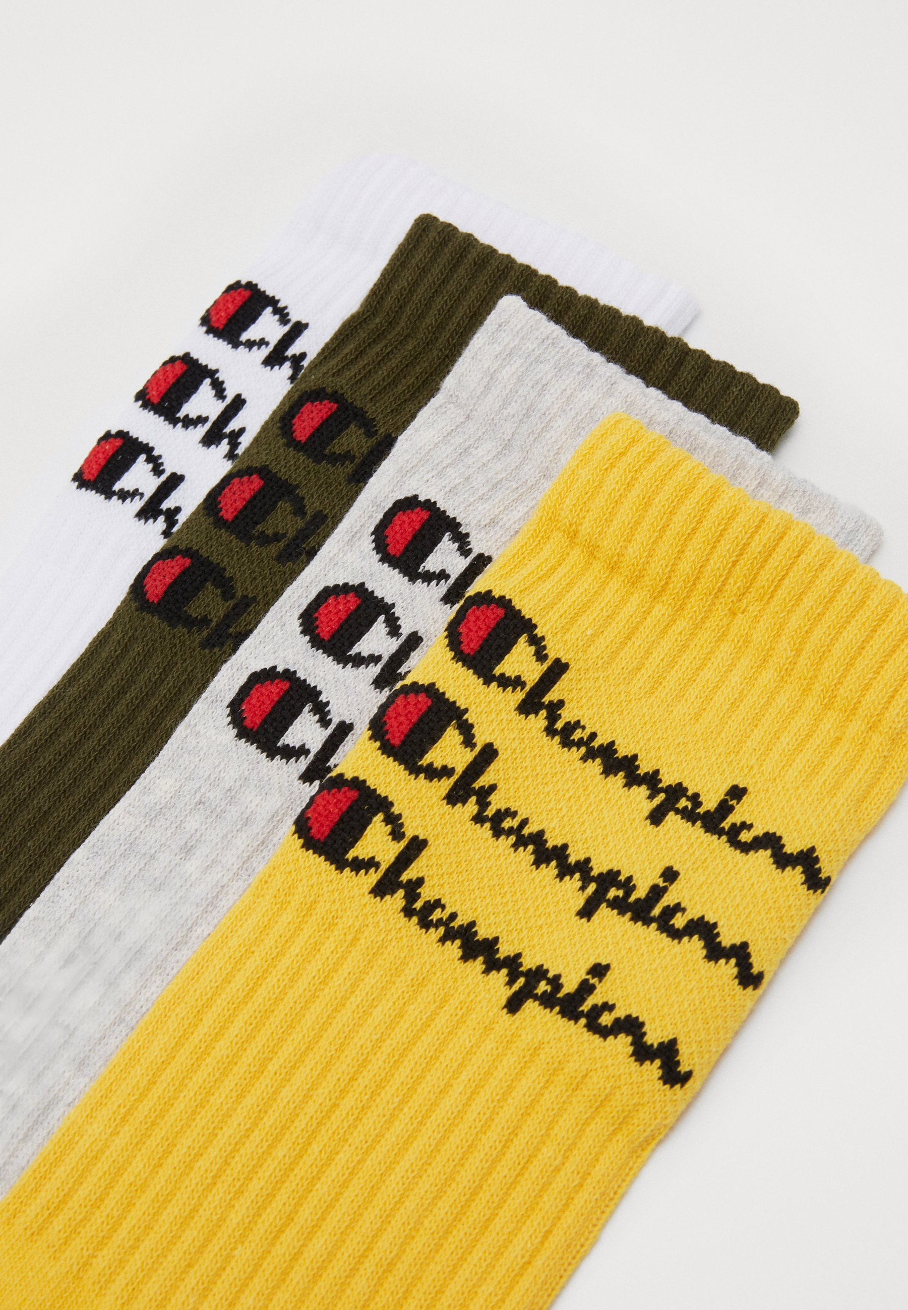 Champion SCRIPT CREW 4 PACK - Skarpety sportowe - multi-coloured
