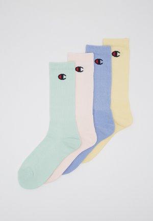 PASTEL CREW SOCKS 4 PACK - Calze sportive - multi-coloured