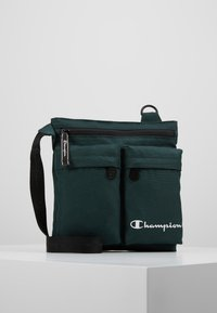 Champion - MEDIUM SHOULDER BAG - Sac bandoulière - dark green - 0