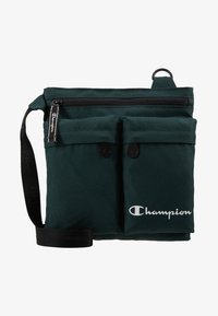 Champion - MEDIUM SHOULDER BAG - Sac bandoulière - dark green - 7