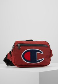 Champion - BELT BAG TRIPLE - Bandolera - red - 0