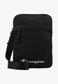 Champion - LEGACY MEDIUM SHOULDER BAG - Taška s příčným popruhem - black - 1