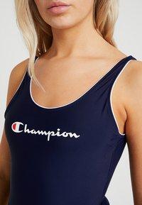 Champion - SWIMSUIT - Badeanzug - dark blue - 4