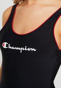 Champion - SWIMSUIT - Badedrakt - black - 4