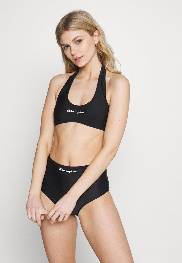 HALTERNECK SET - Bikini - black