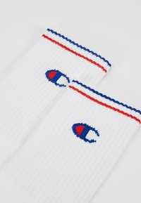Champion - 6 PACK CREW PERFORMANCE - Chaussettes - white/blue/red - 2