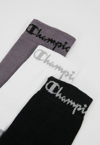 Champion - CREW SOCKS PERFORMANCE 6 PACK - Calze - black/white/dark grey - 2