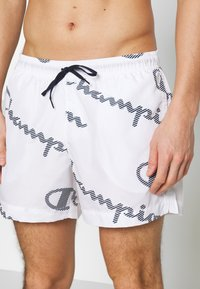 Champion - LEGACY - Shorts da mare - white - 3