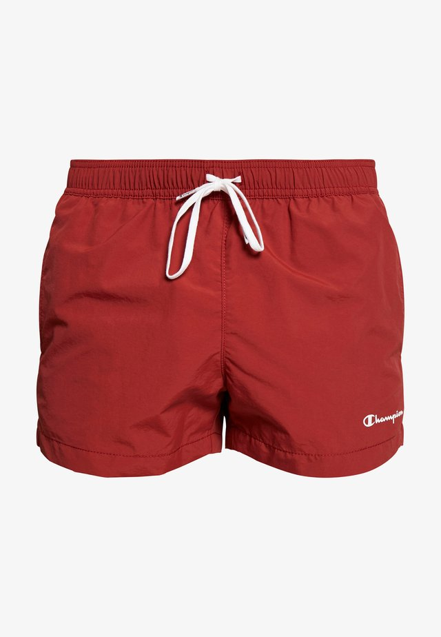 BEACHSHORT LEGACY - Badeshorts - dark red