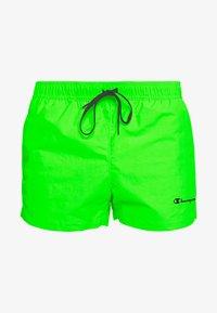 Champion - BEACHSHORT LEGACY - Swimming shorts - neon green - 2