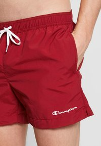 Champion - BEACHSHORT LEGACY - Shorts da mare - dark red - 3