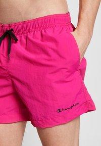 Champion - BEACHSHORT LEGACY - Shorts da mare - pink - 3