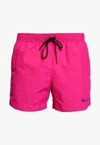 Champion - BEACHSHORT LEGACY - Shorts da mare - pink - 2