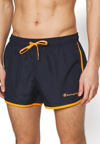 Champion - BEACHSHORT LEGACY - Shorts da mare - blue - 3