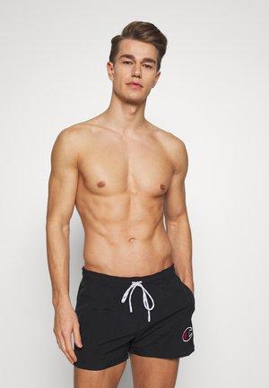 ROCHESTER - Shorts da mare - black/red